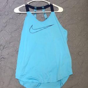 Blue Nike Women's tank